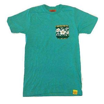 Team phun hawaiian pocket tee shirt
