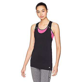 بداية Women's Stretch Performance Tank Top, Exclusive, Black, صغير