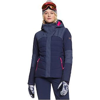 Roxy Dakota Snow Jacket in Medieval Blue