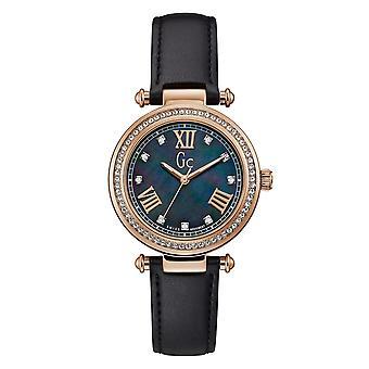 Gc Y46005L2MF Primechic Rose Gold Tone Wristwatch