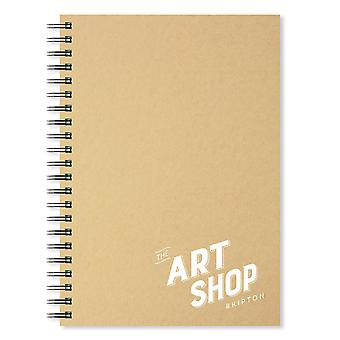 The Art Shop Skipton Kraft Cover Sketchbook A4 (Portrait)