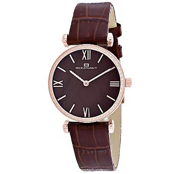 Oceanaut Women's Harmony Brown MOP Dial Watch - OC3216