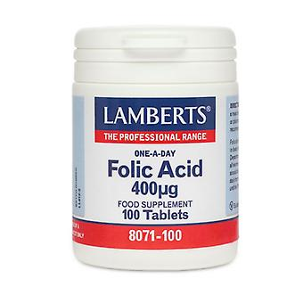 LAMBERTS Foolihappo 400ug tabletit 100 (8071-100)