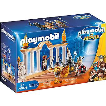 Playmobil The Movie Emperor Maximus in the Colosseum Toy (70076)
