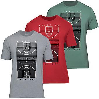 Under Armour Mens UA BBall FILO Korte Mouw Gym Training Sport T-shirt
