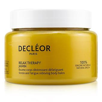 Decleor Jasmin Relax Therapy Stress & Fatigue Relieving Body Balm (salon Size) - 250ml/8.4oz