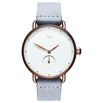 MVMT Bloom Women's Watch Wristwatch Leather D-FR01-RGGR