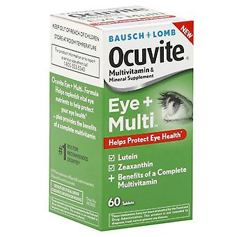 Bausch + lomb ocuvite eye + multi, tablets, 60 ea