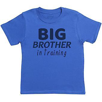 The Baby, Big Bro In Training, Professional Big Bro - Matching Kids Set - Baby / Kids T-Shirts - Gift Set
