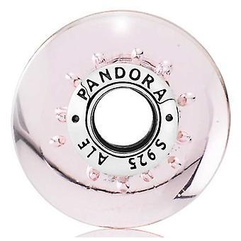 Pandora Pink Glitter Glass Charm - 791670
