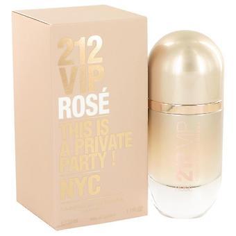 212 Vip rose eau de parfum spray por carolina herrera 515093 50 ml