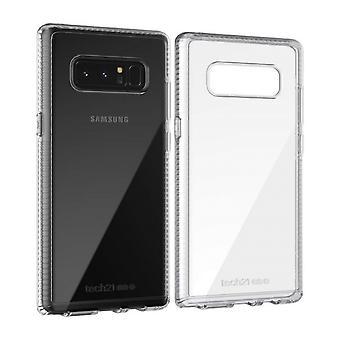 Tech21 puro claro caso para Samsung Galaxy Nota 8 - claro/blanco