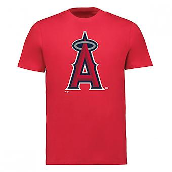 Fanatics Mlb Los Angeles Angels Mike Trout Player Name & Number T-shirt