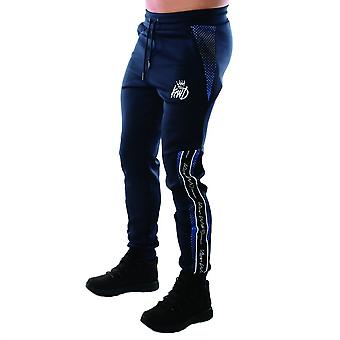 Kings Will Dream | Kwd Perez 3973 Poly Contrast Tape Jogger - Navy/cobalt