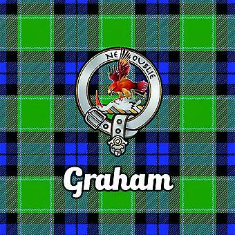 Art2Glass Tartan Clan Coaster - Graham