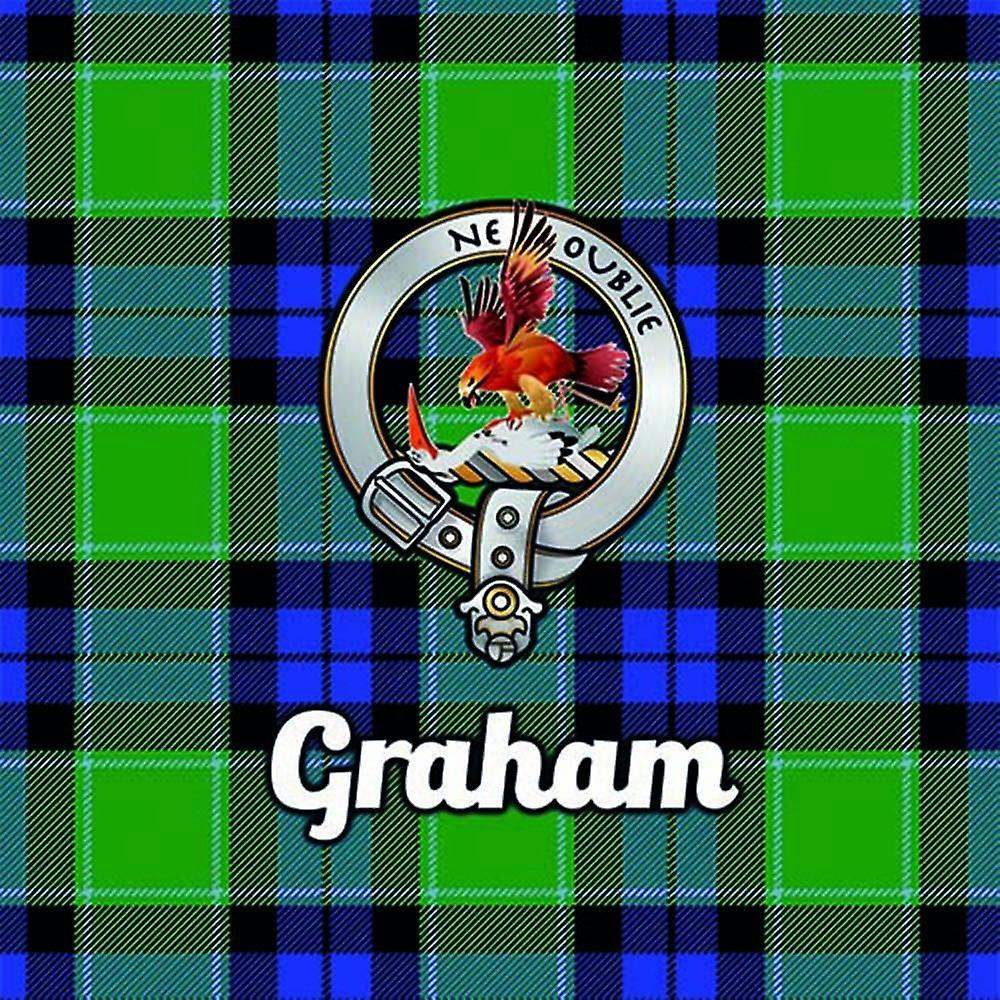 Art2Glass Tartan Clan Coaster - Graham