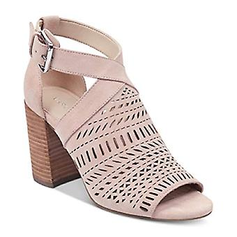 Marc Fisher Womens Suede Peep Toe Casual Ankle Strap Sandals