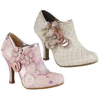 Ruby Shoo Women's Electra Brocade Jewelled Bootie