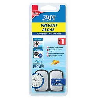 API предотвратить водоросли 1 доза (рыба, обслуживание, содержание воды)