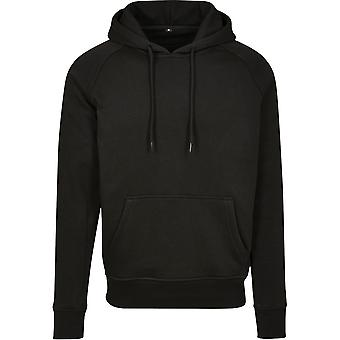 Cotton Addict Mens Raglan Sporty Casual Sweat Hoodie