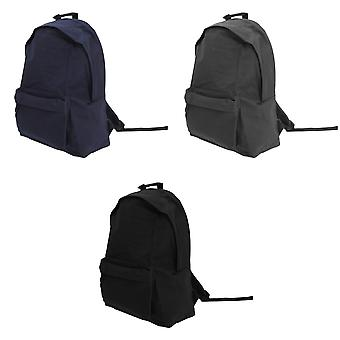 Bagbase Maxi Fashion Backpack / Rucksack / Bag (22 Litres) (Pack of 2)