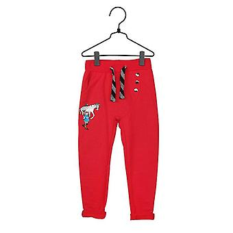 Pippi Longstocking Pantalon Pippi fort rouge