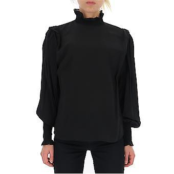 Isabel Marant ÉToile Ht149719a033e01bk Women's Black Viscose Sweater