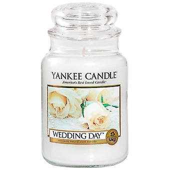 Yankee Candle Grote Jar Candle Wedding Day