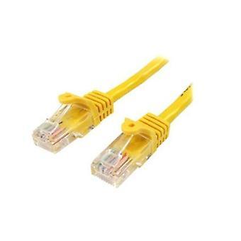 StarTech 10M keltainen Snagless Cat5e Cable patch-Kaapeli