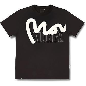 Money Stencil Block T-Shirt Black 47