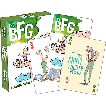 Roald dahl - the bfg playing cards