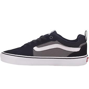 Vans Mens Filmore Low Rise Canvas Skater Colourblock Sneakers Sneakers - Schwarz