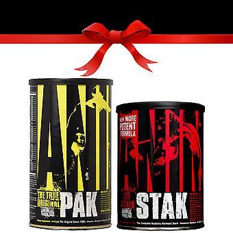 Universal Nutrition Basic Bulking Stack - Choix de cadeau gratuit!