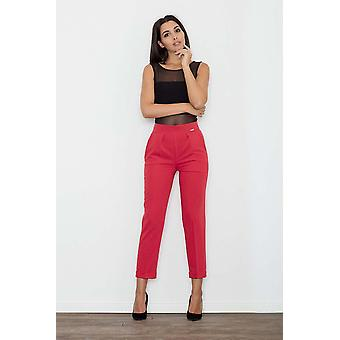 Red figl pants&leggings