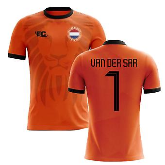 2018-2019 Holland Fans Culture Home Concept Shirt (VAN DER SAR 1)