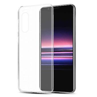 sak for Sony Xperia 5 fleksibel TPU silikon telefonveske - deksel - ultra slank