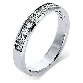 Diamond Ring Ring - 14K 585/- White Gold - 0.33 ct. - 1Q021W453 - Ring width: 53