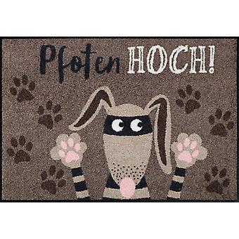 Salon Leeuw deurmat paws hond vuil mat 50 x 75 cm