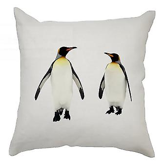 Animal Cushion Cover 40cm x 40cm Penguins
