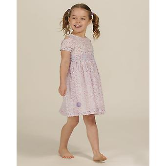 The Essential One Girls Fairy Cat Georgette Cold Shoulder Dress