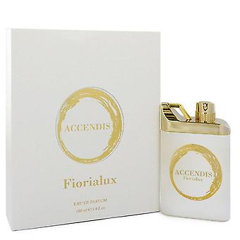 Fiorialux Eau De Parfum Spray (Unisex) Por Accendis 3.4 oz Eau De Parfum Spray