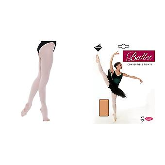 Silky Childrens Girls Convertible Dance Ballet Tights (1 Pair)