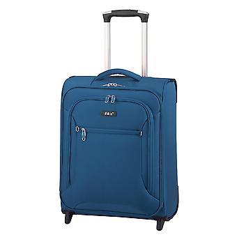 d&n Línea de viaje 6404 Equipaje de mano Carro S, 2 ruedas, 49 cm, 32 L, azul