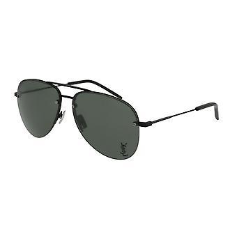Saint Laurent Classic 11M 001 Black/Grey Sunglasses