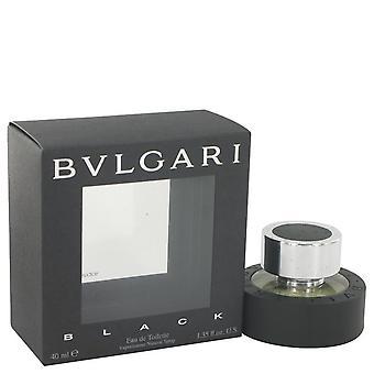 Bvlgari Black Eau De Toilette Spray (Unisex) por Bvlgari 1,3 oz Eau De Toilette Spray