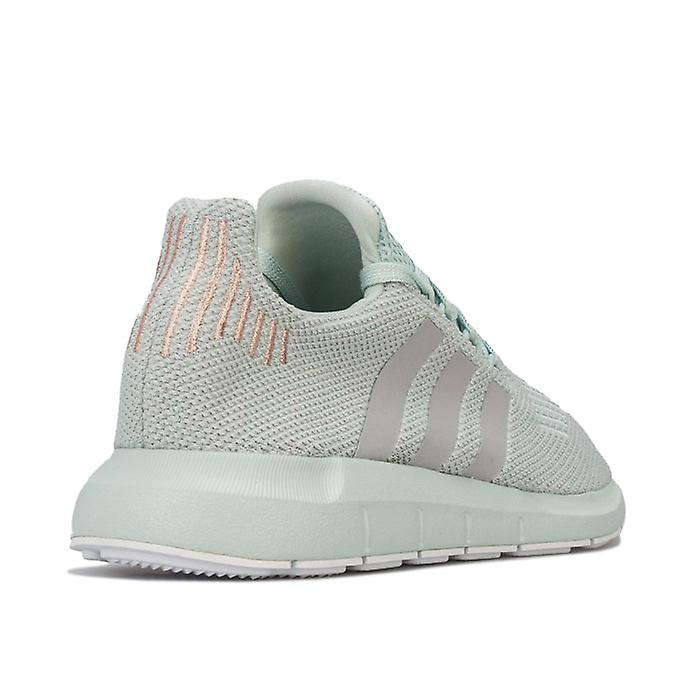 Women's adidas Swift Run Trainers in Green UKKgW