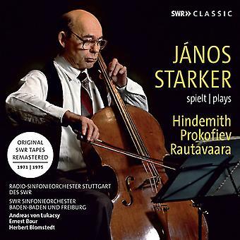 Hindemith / Prokofiev; - Janos Starker Plays Hindemith & Prokofiev [CD] USA import
