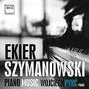 Ekier / Szymanowski - Piano Music [CD] USA import