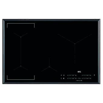Płytki flexinduction Aeg IKE84445FB 80 cm Czarny