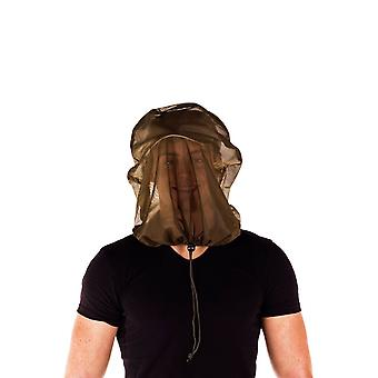 Pyramid Midge Mosquito Insect Head Net Green Protection Inc Carry Bag